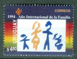Uruguay 1994 Intl. Year Of Family MNH** - Lot. 3740 - Uruguay