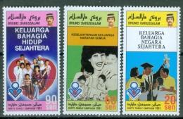 Brunei 1991 Happy Family Campaign MNH** - Lot. 3748 - Brunei (1984-...)