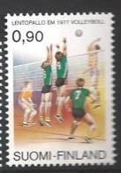 Finlande 1977 N°779 Championnat D´Europe De Volley Ball - Ungebraucht