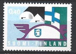 Finlande 1969 N°629 Foires