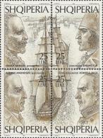 ALBANIA - 1995, Explorers 4v [+]  Mi. 2561/64 - Yv.  Serie Cpl. 4v. Nuovi** Perfetti - Albania