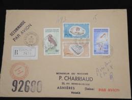 FRANCE - AFARS ET ISSAS - Enveloppe En Recommandée Pour La France - à Voir - Lot P8951 - Afars & Issas (1967-1977)