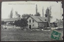 CPA 86 - MIGNE - La Cartonnerie Au Bord De L' Auxance - France