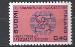 Finlande 1969 N°627 Organisation Internationale Du Travail