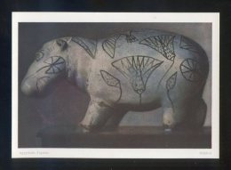 Viena. Museum Kunsthistorisches *Agyptische Fayence. Nilpferd* Ed. K. Wolfrum. Nueva. - Antigüedad