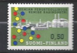 Finlande 1970 N°635 Industrie Chimique