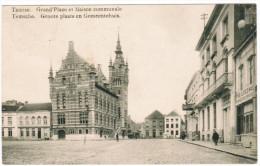 Temse, Temsche Groote Plaats En Gemeentehuis (pk21450) - Temse