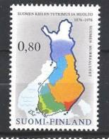 Finlande 1976 N°748 Langue Nationale - Unused Stamps