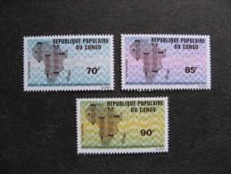 A). Congo:  TB Série PA N° 118 Au N°120 , Neufs XX. - Congo - Brazzaville
