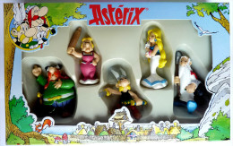 FIGURINE ASTERIX BOITE PLASTOY 3 1998 COMPLETE NEUVE - Asterix & Obelix