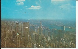 Carte Postale  Etats Unis  : View Looking Northeast  From The Empire State Building - New York City - Multi-vues, Vues Panoramiques