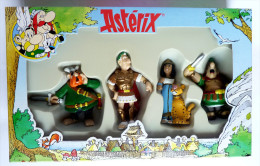 FIGURINE ASTERIX BOITE PLASTOY 4 1998 COMPLETE NEUVE - Asterix & Obelix