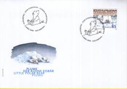 "Zwitserland - FDC 4-3-2008 - Kinderbuchfigur ""Lars, Der Kleine Eisbär""/ ""Little Polar Bear Piuma"" - Hans De Beer - M2050 - Fairy Tales, Popular Stories & Legends"