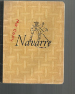Cahier Navarre L , 96 Pages , Plein, Pas De Dessins , Allemand 1959-1960 - Buvards, Protège-cahiers Illustrés