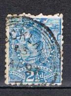 Victoria 2 1/2p. Bleu N°68 - 1855-1907 Crown Colony