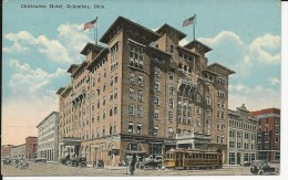 Carte Postale  Etats Unis  : Chittenden Hotel , Colombus , Ohio - Columbus