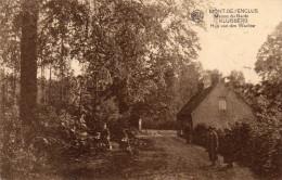 Cpa 1936, MONT DE L'ENCLUS, Maison Du Garde KLUISBERG Huis Van Den Wachter,    (47.59) - Mont-de-l'Enclus