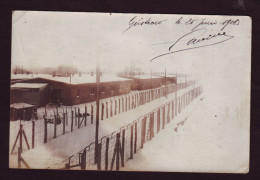 AK Güstrow - Kriegsgefangenenlager - POW-Camp - Baracken - 1918 - Güstrow