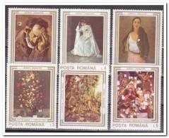 Roemenië 1990, Postfris MNH, Paintings - 1948-.... Republieken