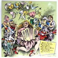RARE Disque Vinyle 33T 25 Cm Cocktail D'amour LES PRIMITIFS DU FUTUR -  Pochette CRUMB - MEDIA SEPT JB 112 - 1987 - Disques & CD