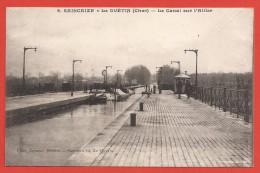 CPA Cuffy - Gimouille - Saincaize - Le Guétin - Le Canal Sur L´Allier - France