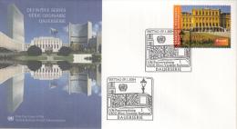 Verenigde Naties - Wenen - FDC 29-1-2004 - UNESCO Welterbe In Österreich - Schloß Schönbrunn, Wenen - M 410 - FDC