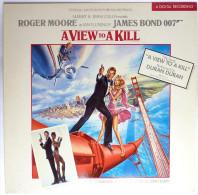 Disque Vinyle 33T JAMES BOND - A VIEW TO A KILL - EMI 2403491 - 1985 - Disques & CD