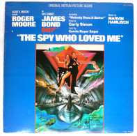 Disque Vinyle 33T JAMES BOND -  THE SPY WHO LOVED ME - UAG 30098 - 1977 - Disques & CD