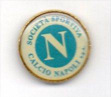 Pq1 Napoli Calcio Distintivi FootBall Soccer Pins Napoli Italy Campania - Calcio