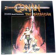 RARE Disque Vinyle 33T CONAN THE BARBARIAN - MCA 6108 1982 POCHETTE FRAZETTA - Disques & CD