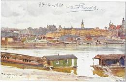VARSOVIE WARSZAWA (Pologne) Carte Illustrée D'après Cieslewski - Pologne