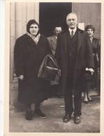 31 - BOUSSENS - Photo Du Mariage En 1961 De Paul Et Jacqueline  Devant L'église De Boussens - France