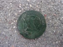 RARE Monnaie 5 Centimes 1857 D Côté Minimum 100€ Sur Le Franc - France