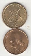 GREECE - G.Karaiskakis, Coin 2 GRD, 1984 - Grèce