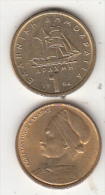 GREECE - K.Kanaris, Coin 1 GRD, 1984 - Greece