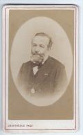Photographie Ancienne, CDV, Courtheoux (Paris, France), Portrait Homme (Mr Albaret, Industriel à Rantigny), Mode, Cos... - Photographs