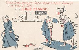 BU 1381 - BUVARD  -    LINGE EPONGE  JALLA - Textile & Clothing