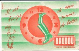 BU 1382 - BUVARD  -     BOTTES  BAUDOU - Chaussures