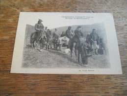 CPA De La Campagne D´Orient 1914 - 1918, Groupe De Macédoniens - Hommes Armés à Cheval, Daté 1918, Carte Animée - Guerre 1914-18