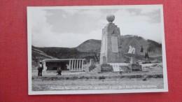 Línea De Equinoccios -ref  1950 - Ecuador