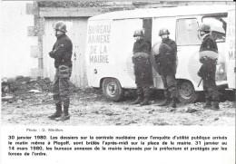 Tirage Limité à 1000 Ex. N° 0151- 30 Janvier 1980. Les Dossiers Sur La Centrale Nucléaire.......le Matin Même à Plogoff. - Manifestations