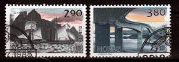 Noorwegen Mi 996,997 Gestempeld Europa Cept  Fine Used - Europa-CEPT