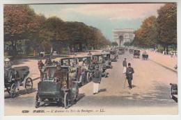CPA Paris, L'Avenue Du Bois De Boulogne (pk22959) - Markten, Pleinen