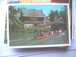 Thailand Bangkok View Of Klong - Thailand