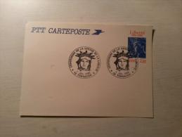 CARTE POSTALE - Centenaire De La Statue De La Liberté - Tarascon - 04/07/1986. - Cartoline Postali E Su Commissione Privata TSC (ante 1995)