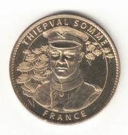 Medaille Arthus Bertrand 80.Thiepval N°3 Le Buste Soldat 2007 - Arthus Bertrand