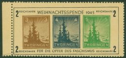 Germany Soviet Zone SBZ Thueringen Block 1t Christmas 2M Weihnachtsspende  49965 - Zonder Classificatie