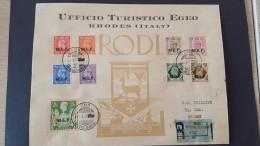 Italy 1947 British Occupation Of Italian Colonies Cos, Registered Cover - British Occ. MEF