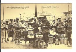 REPRODUCTION / LE DEJEUNER DU SOLDAT LYON-PERRACHE 1914-1917 Oeuvre De Mme BIZOLON /COPIE NEUVE - Altri