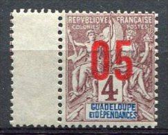 GUADELOUPE -  Yv. N°  72  ** MNH  05 S 4c  Cote  3,2 Euro  TBE - Guadeloupe (1884-1947)